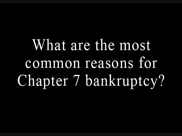 Reasons To Contact A Chapter 7 Bankruptcy Attorney