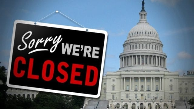 Bankruptcy After Shutdown